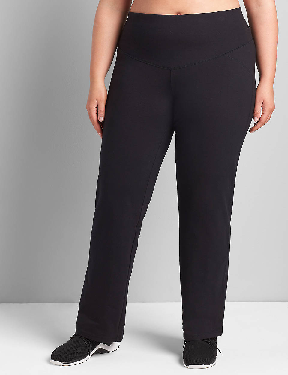 3a887e684aaac6 Control Tech Smoothing Yoga Pant | Lane Bryant