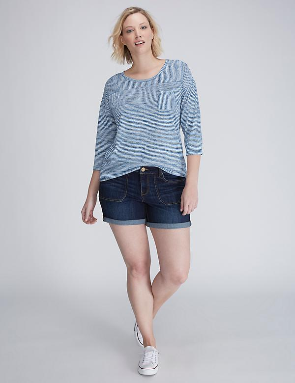 Patch Pocket Denim Weekend Short