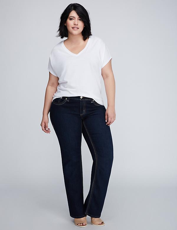 Plus Size Bootcut Jeans & Denim for Women | Lane Bryant
