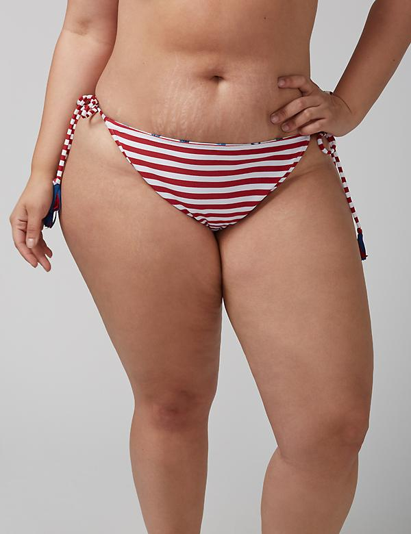 Reversible Side-Tie String Bikini Bottom