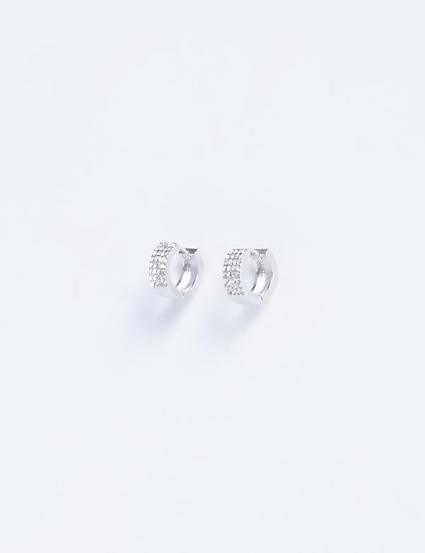 Pave Cuff Earrings