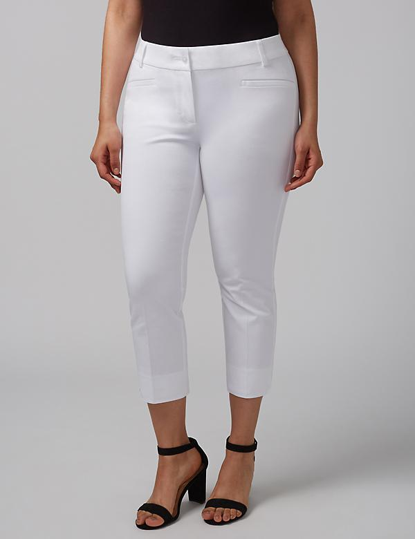 Sophie Cotton Smart Stretch Crop