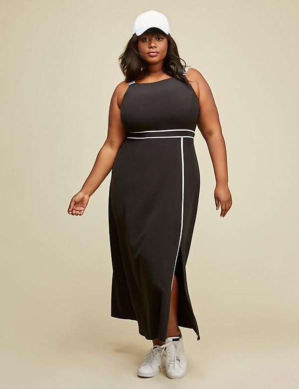 Apron Dress by GLAMOUR X LANE BRYANT