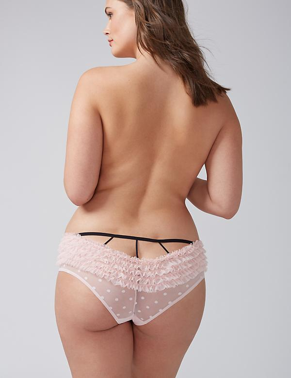 Ruffles & Dots Strappy Rumba Cheeky Panty