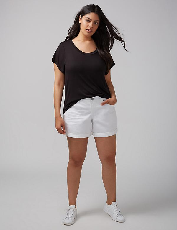 Twisted Open-Back Tee