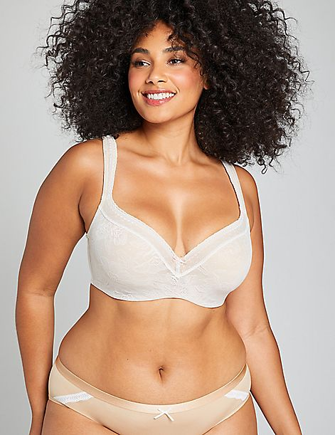 Modern Lace Lightly Lined Balconette Bra