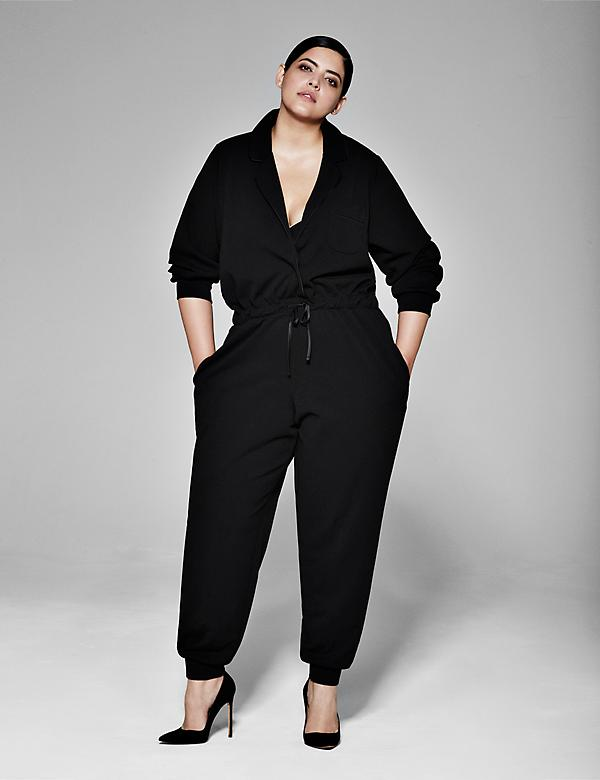 Notched-Collar Sleep Jumpsuit by Sophie Theallet