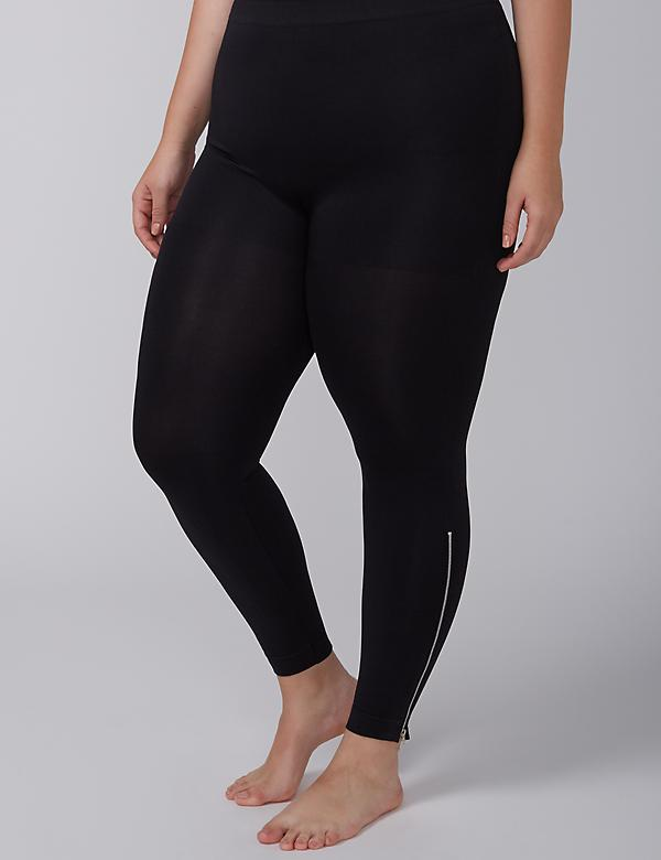 Control Top Legging with Ankle Zip
