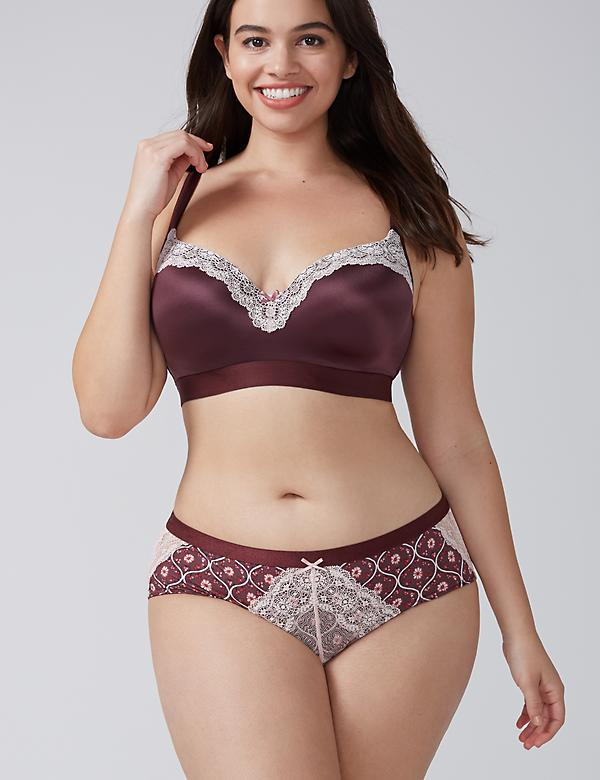 Charmer Hipster Panty with Lace