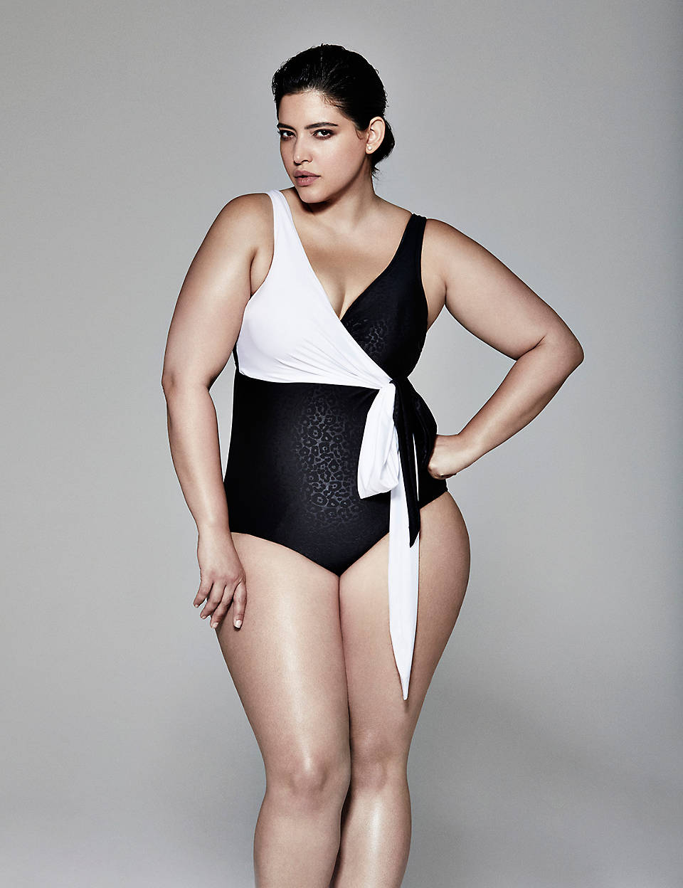 fc5f1c407af Swim One Piece with Built-In Balconette Bra by Sophie Theallet