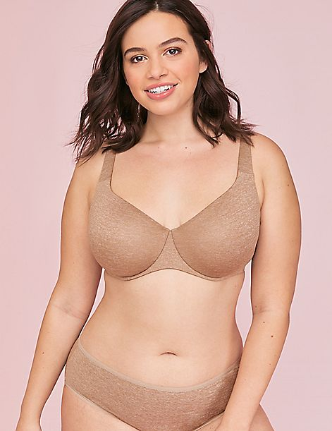 True Embrace Unlined Full Coverage Bra