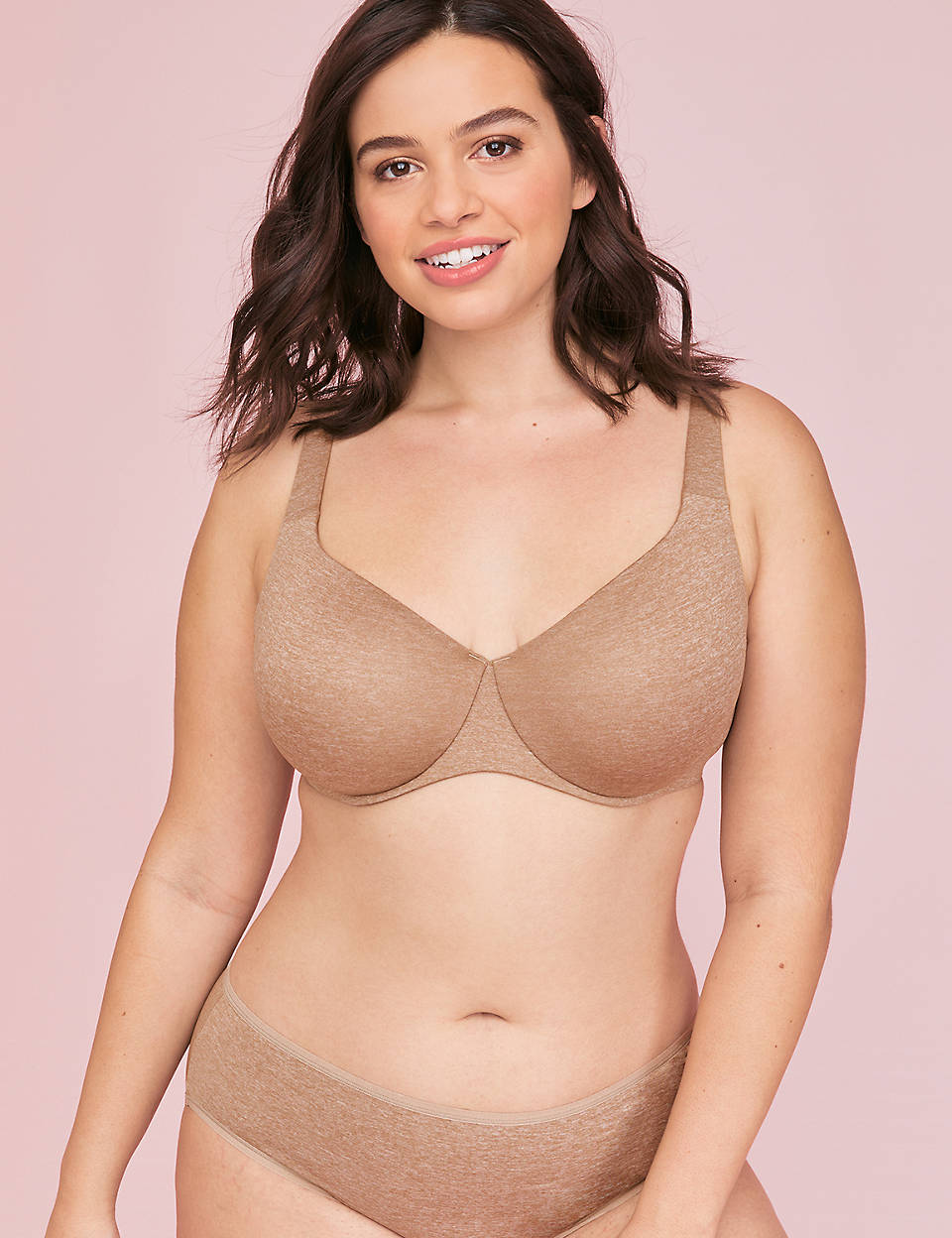 16ef100ab True Embrace Unlined Full Coverage Bra