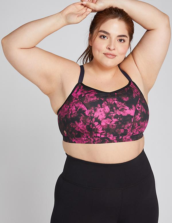 LIVI Active Low-Impact Wicking Sport Bra - Strappy Racerback