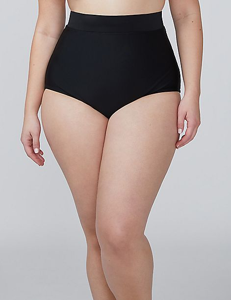 Mid-Waist Swim Brief