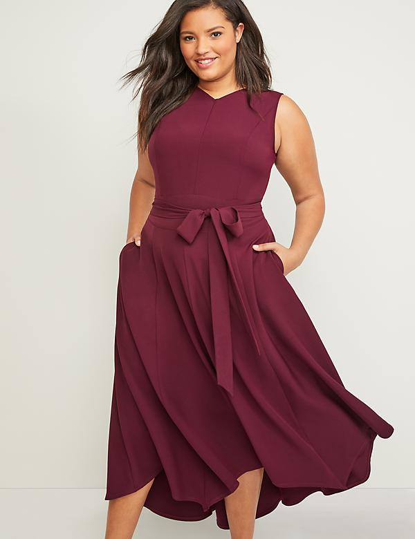 Red Plus Size Midi And Maxi Dresses | Lane Bryant