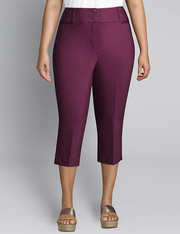 Modern Stretch High-Rise Pedal Pant