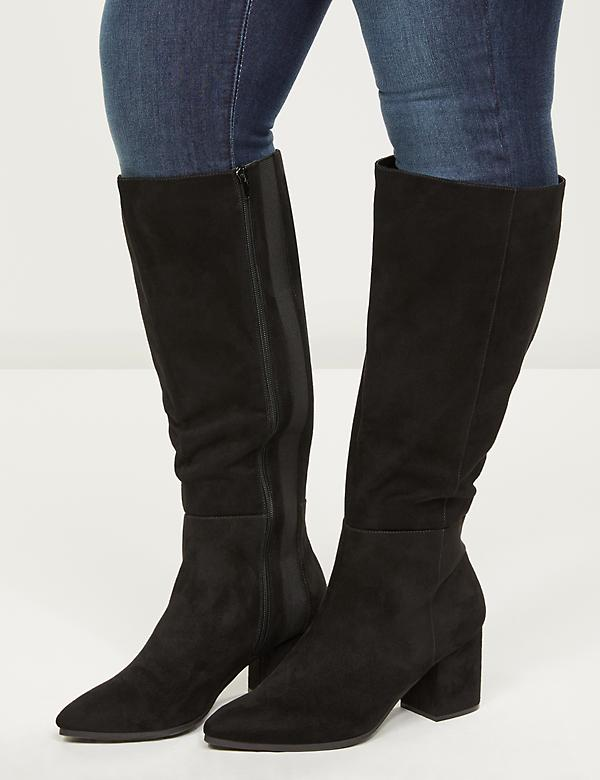 Stella To-The-Knee Boot - Extra Wide Calf