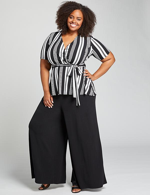 Knit Kit Pull-On Wide Leg Pant