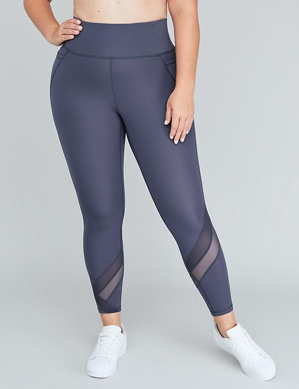 Sculpting Active 7/8 Legging - Mixed Mesh Insets