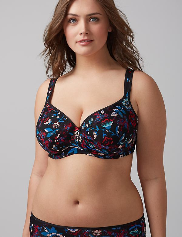 Smooth Lightly Lined Balconette Bra