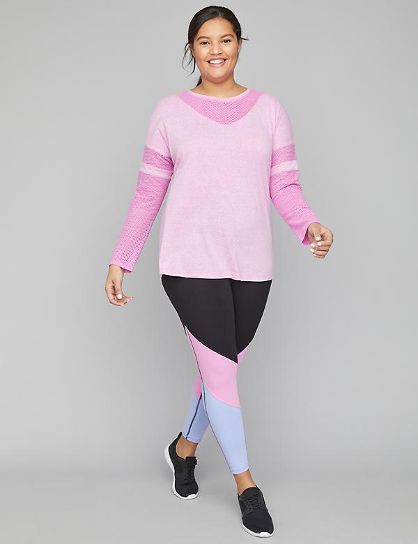 Active Tunic Top with Mesh