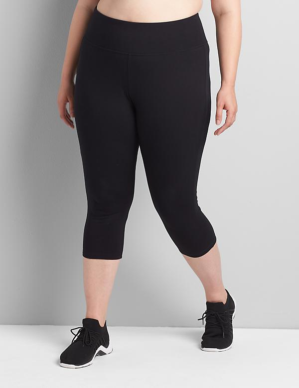 Signature Stretch Active Capri Legging