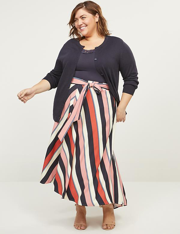 Lena High-Low Maxi Skirt