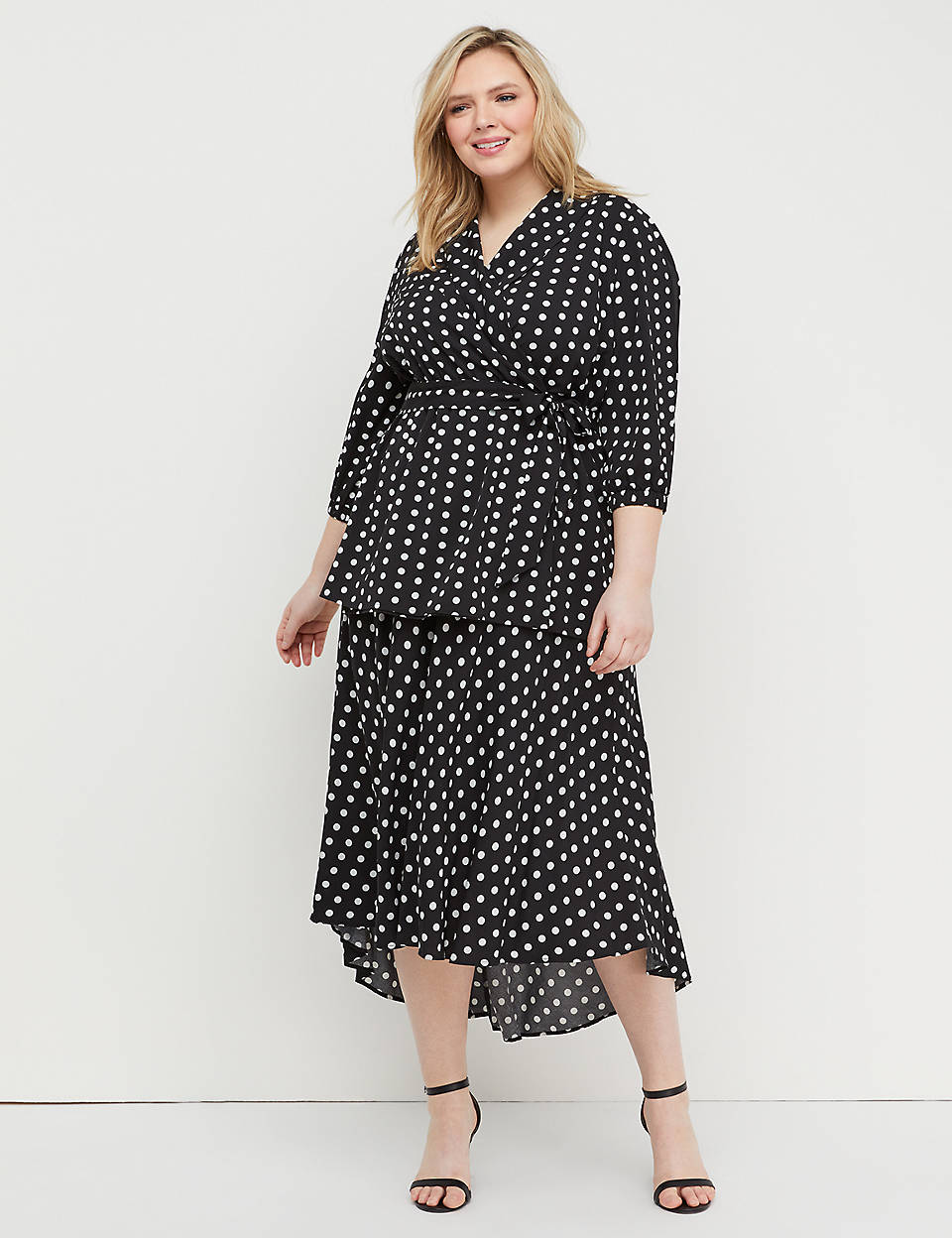 super quality uk availability arrives Polka Dot Midi Skirt