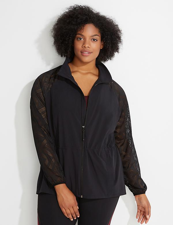 Performance Stretch Run Active Jacket