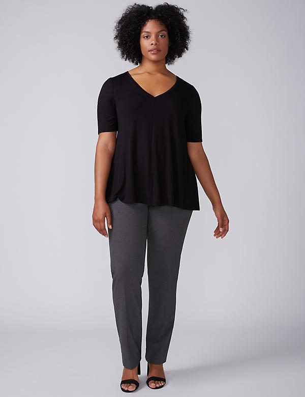 Sophie Tailored Stretch Straight Leg Pant with T3 Technology