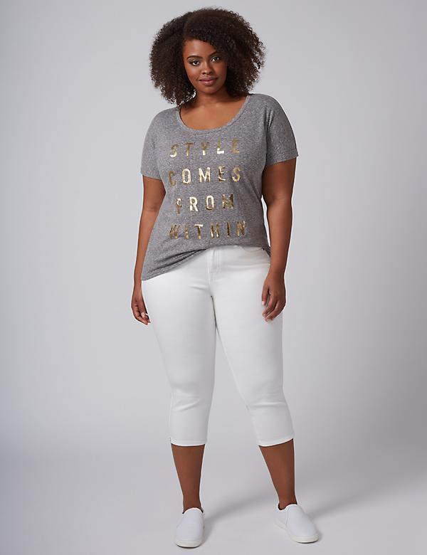Style Comes From Within Graphic Tee