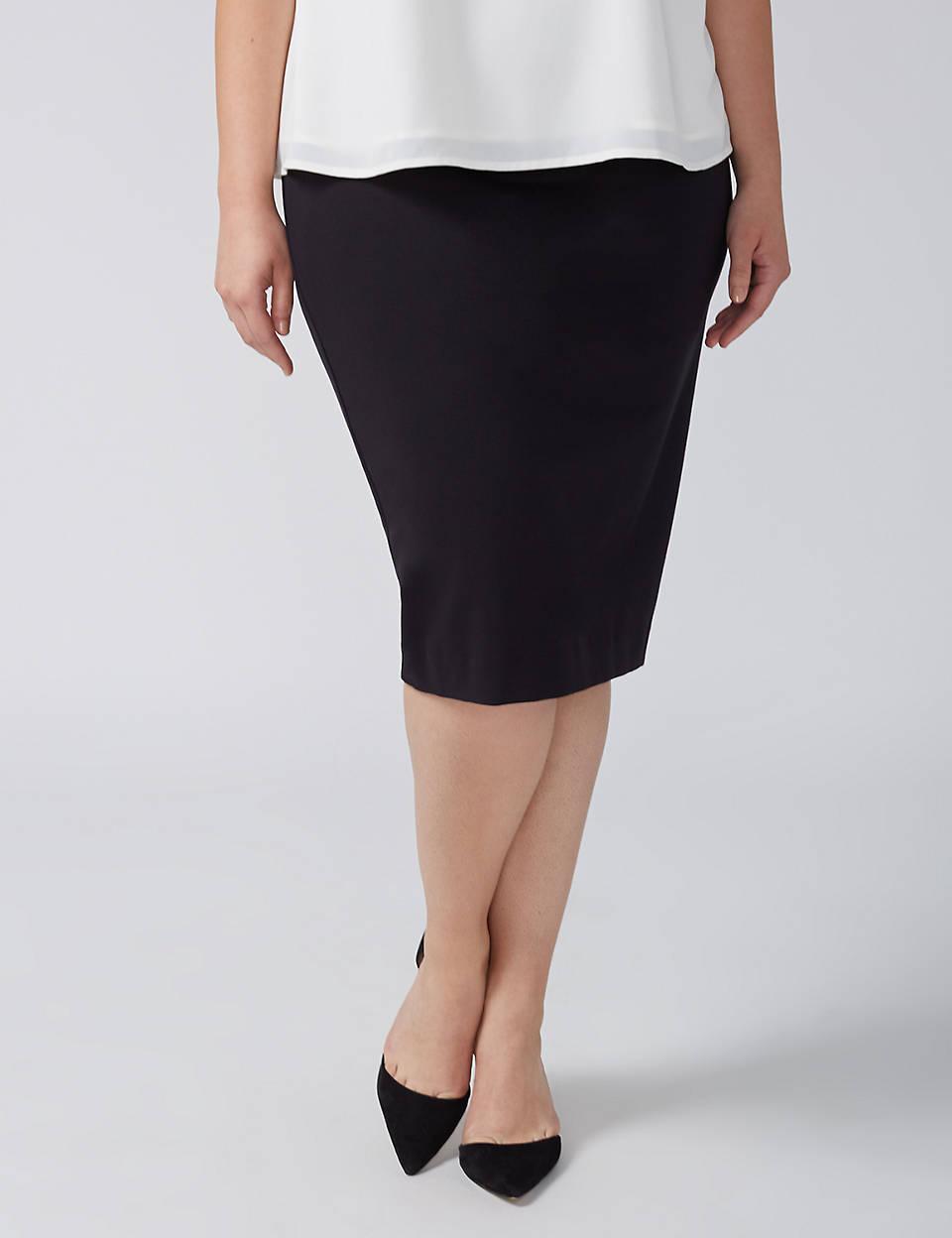 6f1313c7b8d9 Ponte Pencil Skirt | Lane Bryant