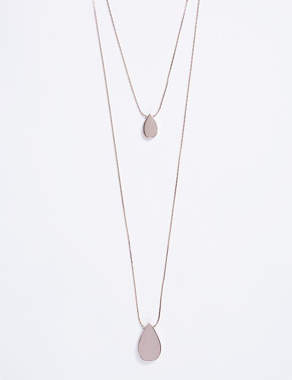 2-Layer Teardrop Necklace
