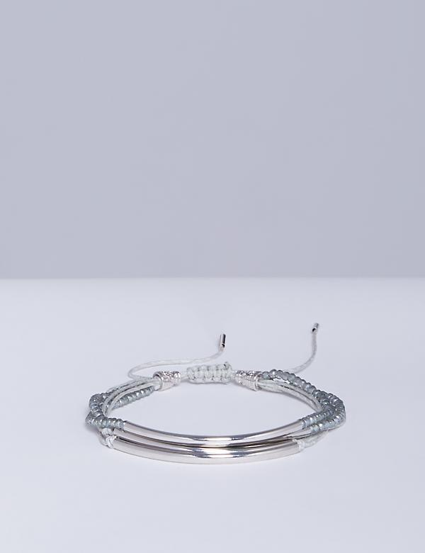 5-Row Tonal Adjustable Bracelet