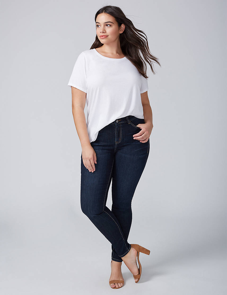 d3568444cea00 Skinny Jean with T3 Tighter Tummy Technology