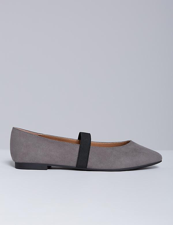 Faux Suede Flat