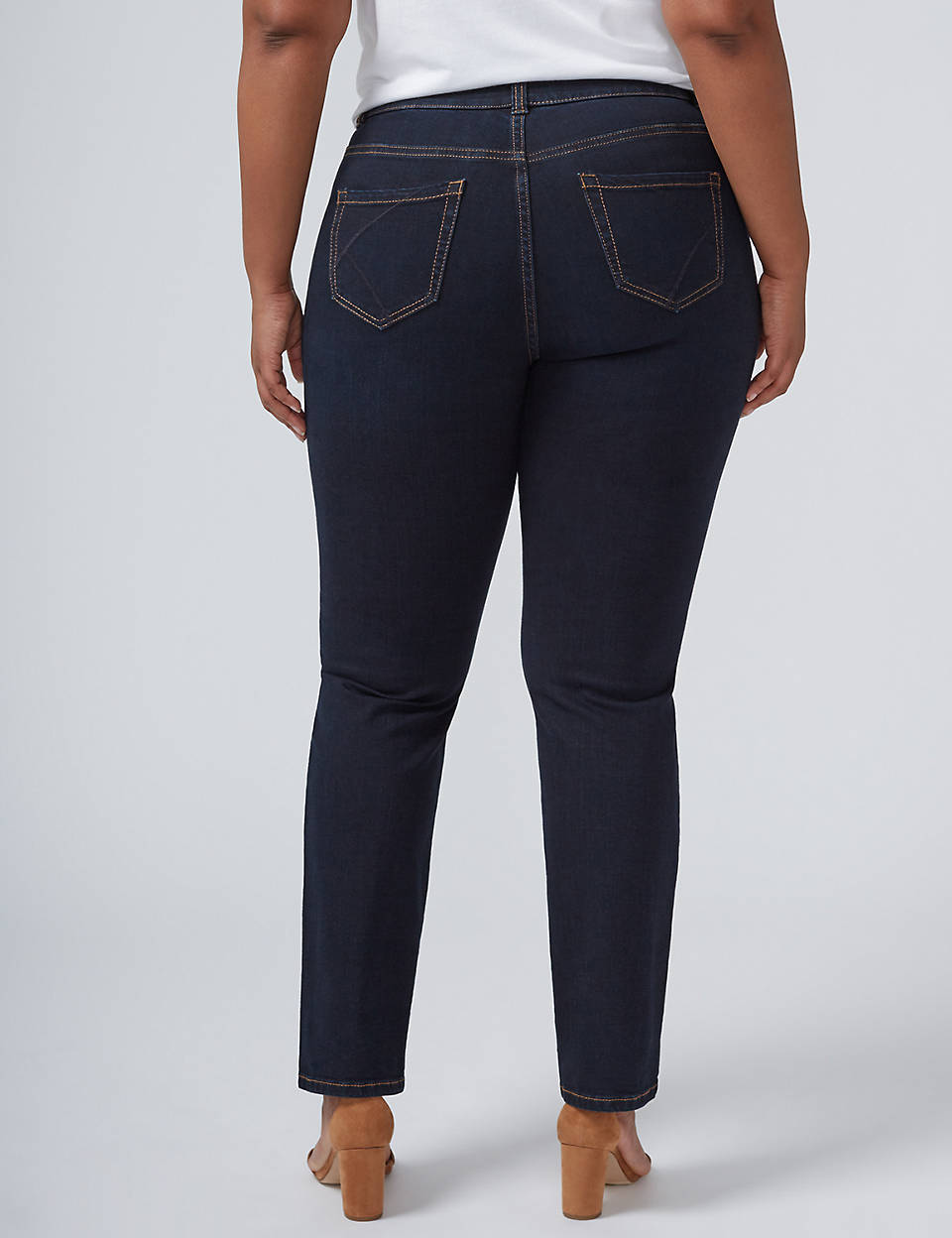 386c3648ef5 Straight Jean with T3 Tighter Tummy Technology
