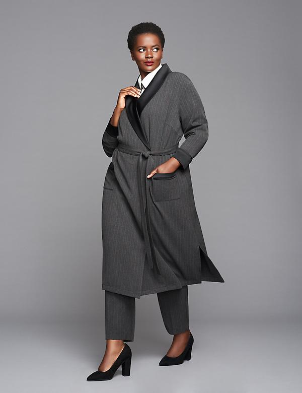 Duster Jacket by GLAMOUR X LANE BRYANT
