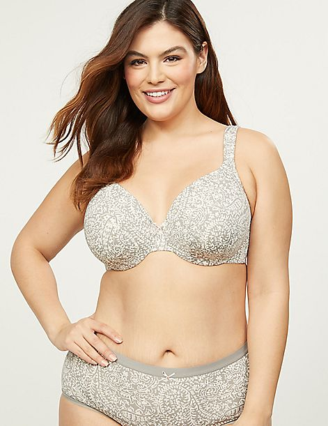 Smooth Lightly Lined Full Coverage Bra