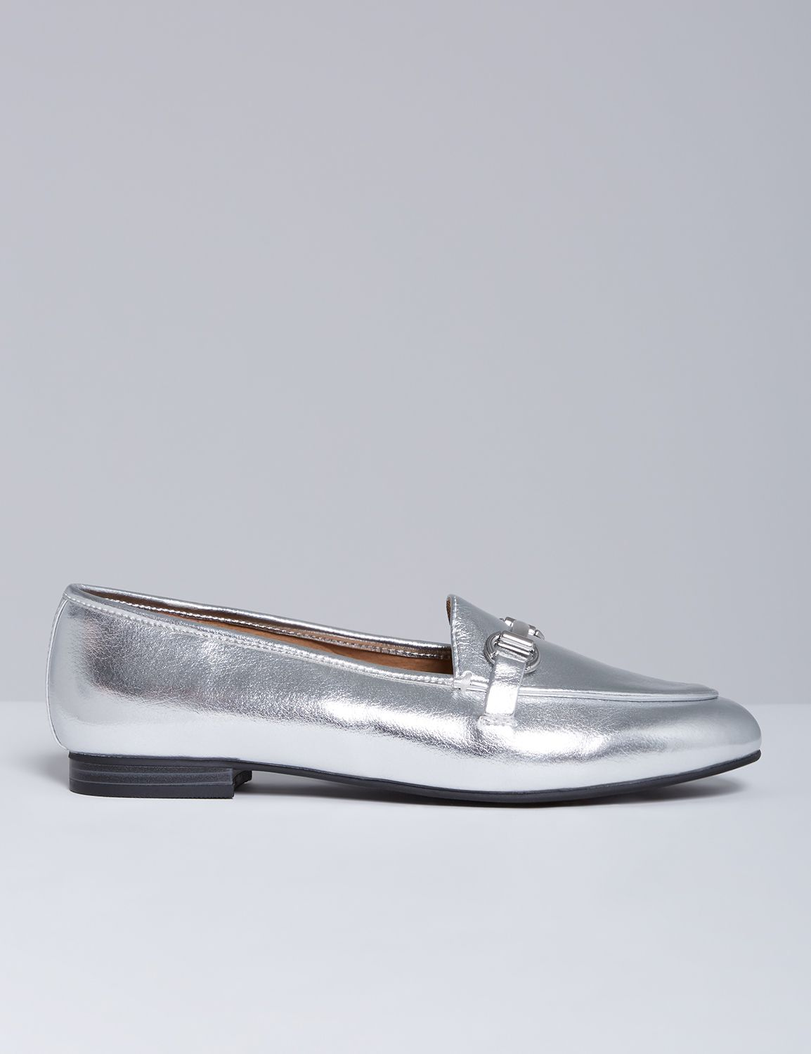 Vintage Scarves- New in the 1920s to 1960s Styles Lane Bryant Womens Loafer 8W Nine Iron $34.99 AT vintagedancer.com