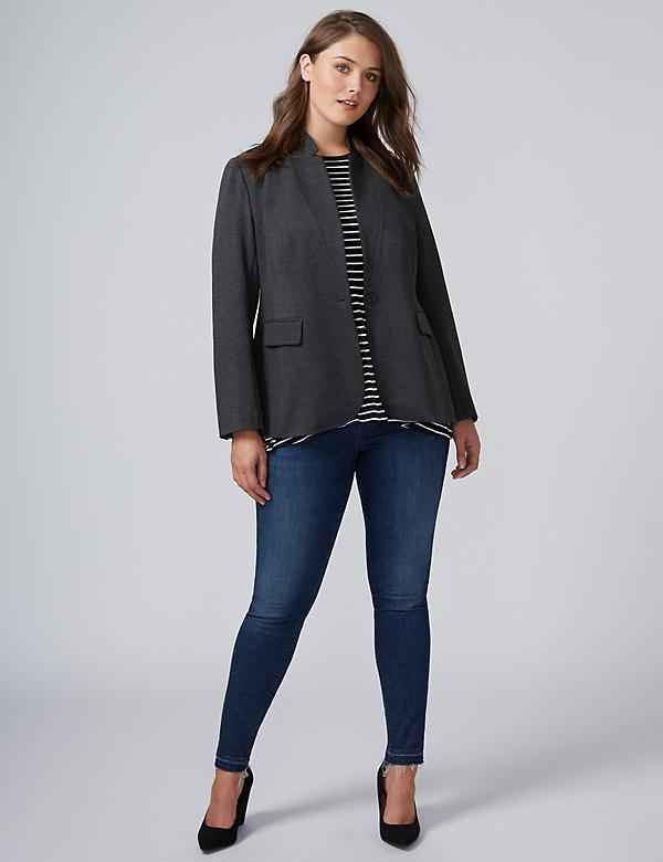 Women's Plus Size Moto Jackets, Blazers & Coats | Lane Bryant