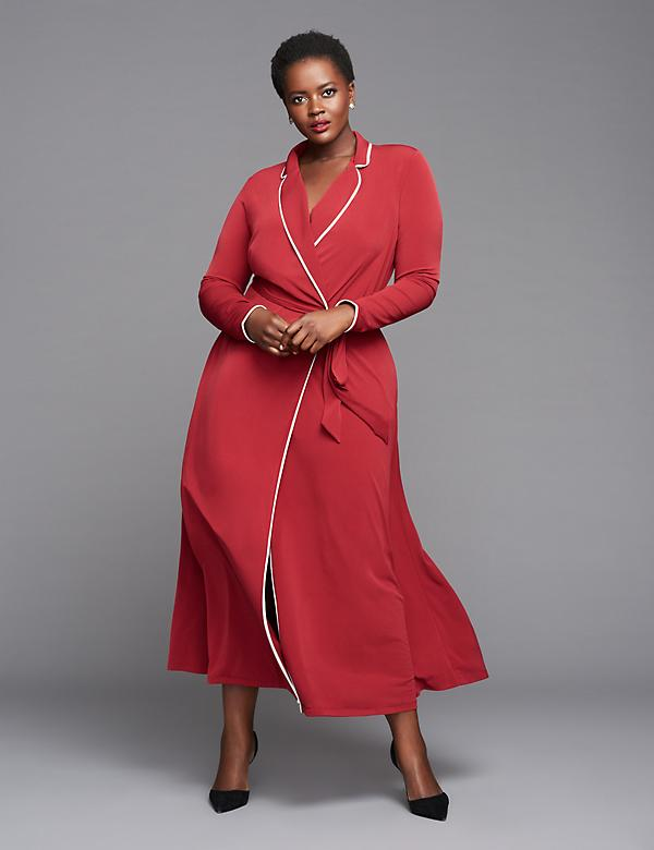 Maxi Robe Dress by GLAMOUR X LANE BRYANT