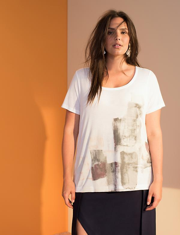 Watercolor Graphic Tee by Prabal Gurung