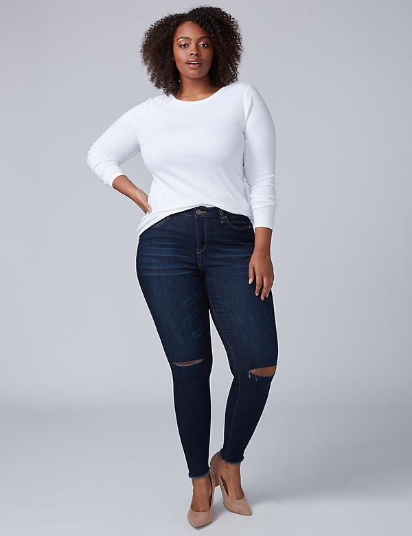 Super Stretch Skinny Jean - Dark Rinse