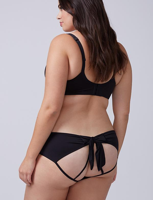Open-Back Panty with Bow
