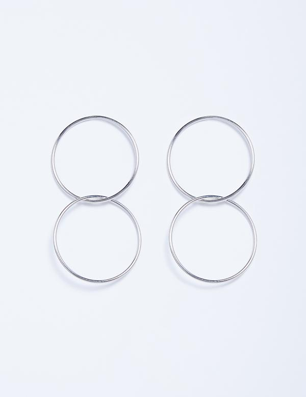 Locking Circles Earrings