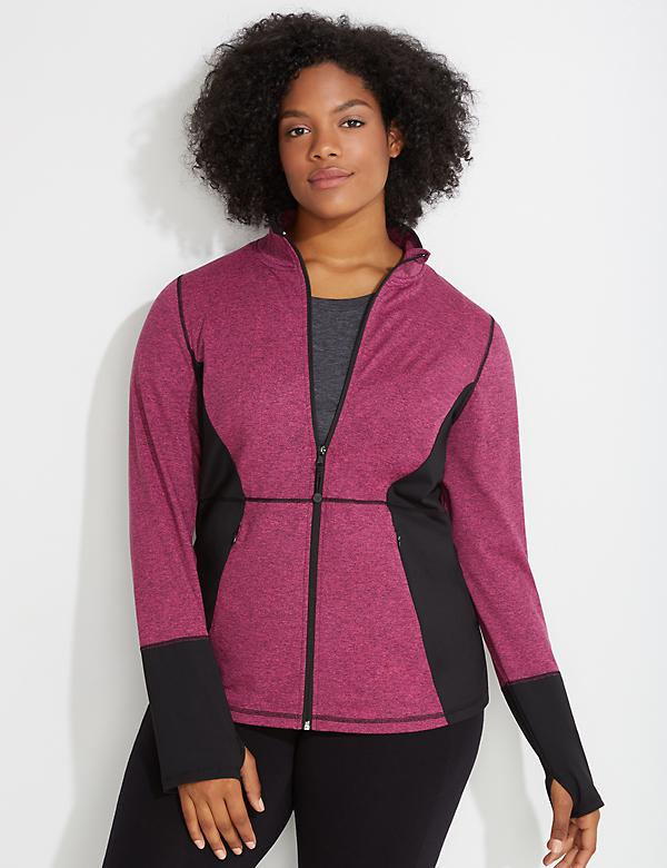 Wicking Marl Active Jacket
