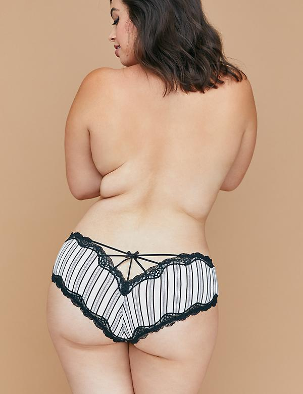 Strappy-Back Cheeky Panty