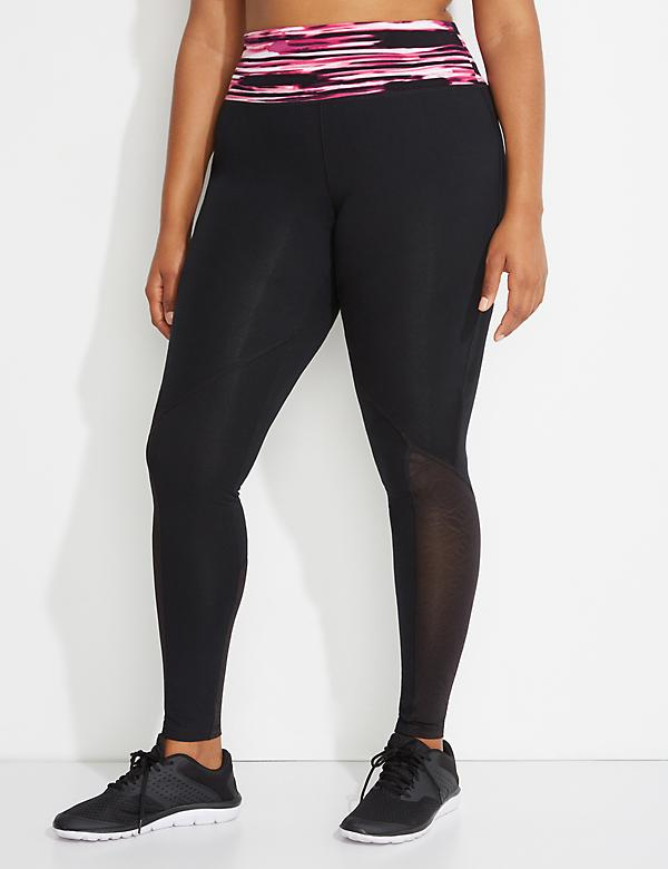 Signature Stretch Active Legging with Mesh