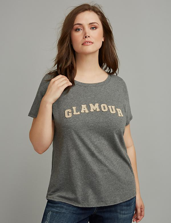 Graphic Tee by GLAMOUR X LANE BRYANT